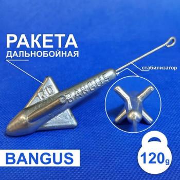 Дальнобойный груз Ракета 120г  с штангой на пеленгаса