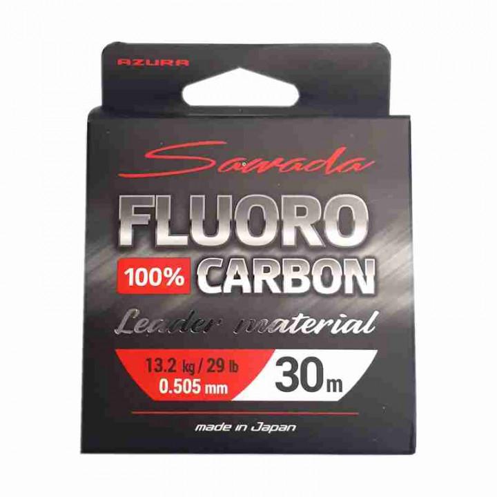 Флюорокарбон  0.505 мм,  30 м, 13.2 кг, Японский