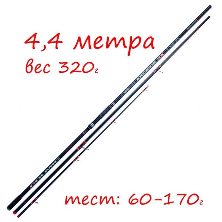 Серфовое удилище Colmic Arcadia NX 4740 (4,4 m, 60-170 g) на пеленгаса и кефаль